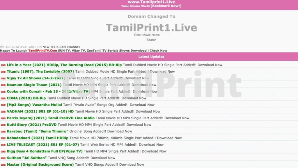 Dubbed movies collection 2021 tamil Tamil Dubbed